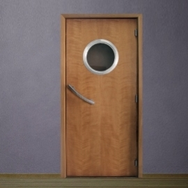 Porta Decorativa Escotilha